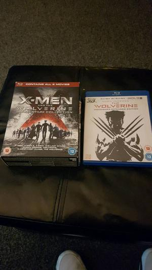 Xmen Blu Ray Box Set
