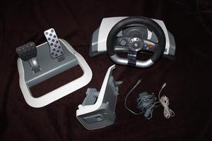xbox 360 Wireless Force feedback steering wheel
