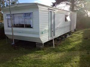 2 bed caravan for hire in Amroth Pembrokeshire