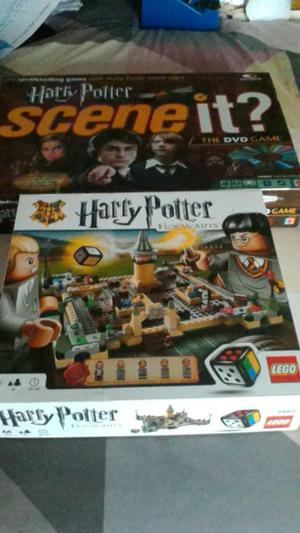 2x harry potter games Lego & scene it