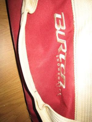 BURTON Snowboard Bag, Red & Blue, 1.45 m long