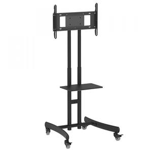 Height Adjustable Compact Tv Stand For Quot Tvs Posot Class
