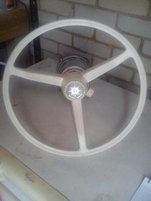 Boat Morse steering wheel