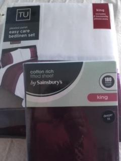 Brand New Kingsize Bedding Set