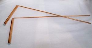 DIVINING DOWSING RODS COPPER NEW IN PACKING WITH INSTRUCTIONS WITCHCRAFT NEW AGE UNUSUAL XMAS GIFT