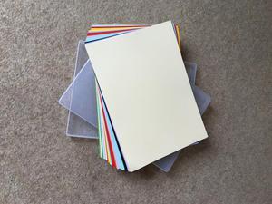 Dalton Manor A4 scrap book card - NEW