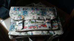 Disney mickey Minnie mouse satchel bag backpack