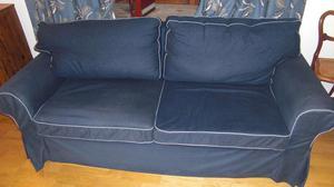 Sofa Bed Ikea Ektorp Pixbo Svanby Grey Posot Class