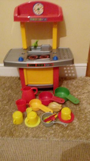 Kitchen /shopping basket with fruit.