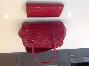 M&S Handbag with matching Next purse