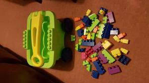 Mega Blocks Truck & Blocks.