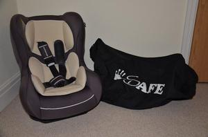 Mothercare Madrid Combination Car Seat with iSafe Universal