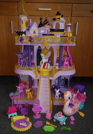 My little pony cutie mark magic castle and swan boat