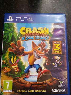 NEW crash bandicoot ps4