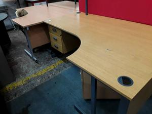 Office Desk With Drawers - With Delivery Option