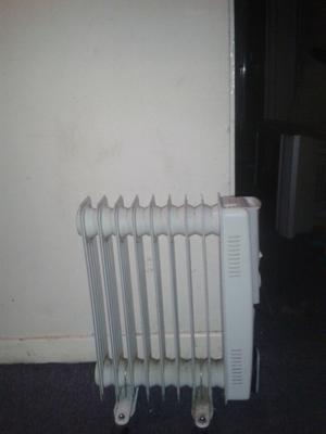 Oil powered heater/radiator