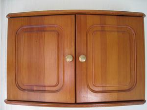 Pine Bathroom Cabinet and Mirror in Chelmsford