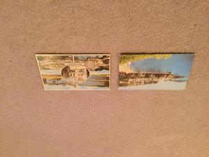 Postcards x 2 in colour - Cornwall - as shown