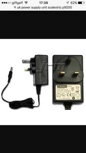 Scalextric Digital UK power P supply unit. New