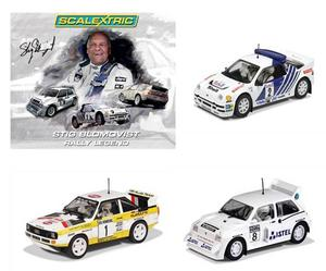 Scalextric Limited Edition 3 Car Set, Metro 6R4 / RS 200 /