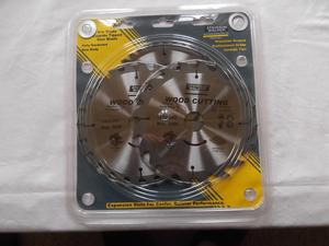 Set of 3 new circular saw blades - Atkinson Walker 190mm X