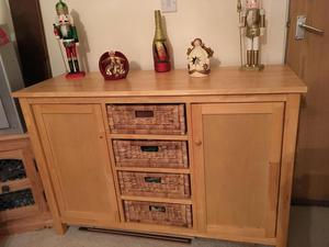 Accent High Gloss Low Sideboard Tv Unit Black Posot Class