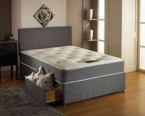 VENICE DOUBLE DIVAN BED WITH DUAL SEASON MATTRESS