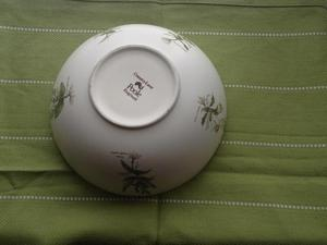 Vintage patterned bowl by Poole Pottery