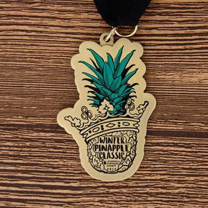 Winter Pineapple Classic Custom Medals
