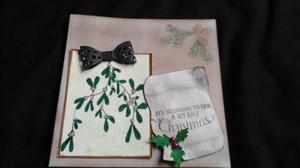 hand made card christmas