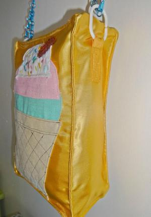 novelty unique ice cream bag