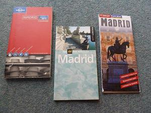 2 x POCKET GUIDE BOOKS & MAP FOR MADRID