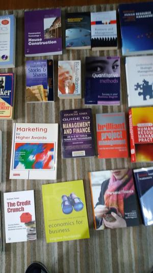 34 Business & Management Text Books