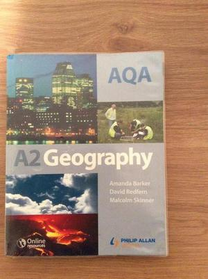 AQA A2 Geography Book