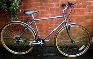 Ammaco hybred bike,700c wheels,21 speed