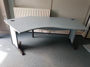 Angle executive office desk top spec