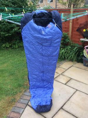 Blue and Violet Eurohike 2 Season 200 Mummy Bag
