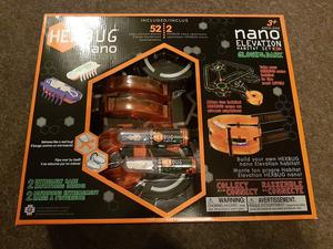 Brand new sealed hexbug nano glow in the dark set