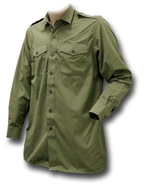 British Army Olive Green General Service Shirt (new)