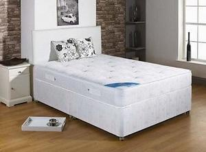 CEAPEST BED ON LINE COMPLETE WITH ORTHOPAEDIC MATTRESS SINGLE, DOUBLE, KING NEW