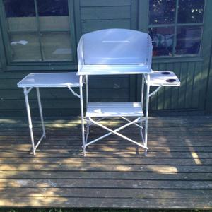 Camping cooking stand