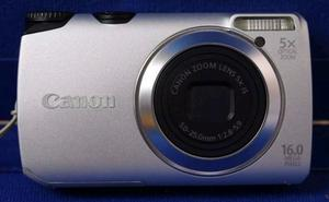 Canon PowerShot A IS 16MP Digital Camera - Silver