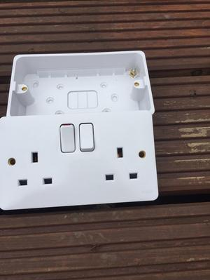 Double Switch sockets