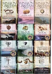 Full set of Winston Graham Poldark Books