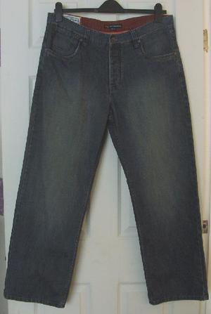 Gorgeous Mens Denim Jeans By Rockport - Sz 36W/30L B2