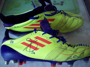 HARIS VUCKIC? match worn boots