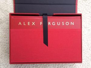 Limited edition of Signed Alex Ferguson autobiography.