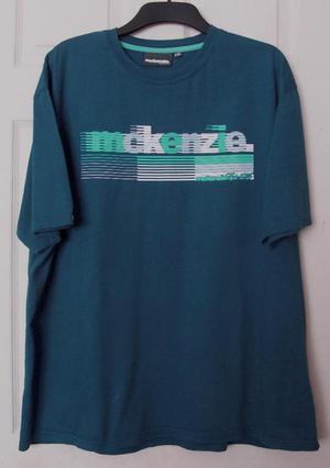 Lovely Men's Blue T Shirt By Mckenzie - Sz XXL B5