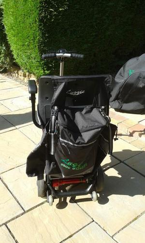 Luggie Elite Folding Mobility Scooter.