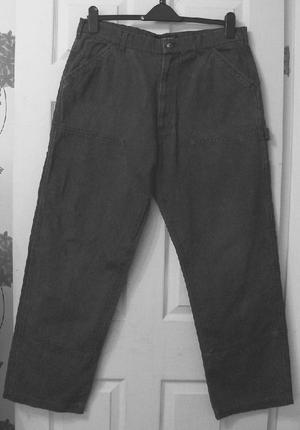 MENS DARK GREY JEANS BY FRENCH CONNECTION - SZ 36 B20